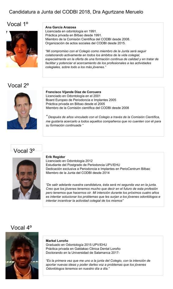 Candidatura a Junta del CODBI 2018, Dra Agurtzane Meruelo (1)